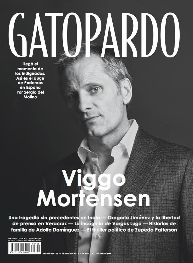 Cover of Viggo Mortensen for GATOPARDO