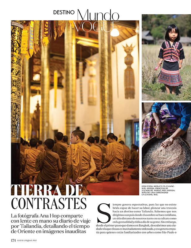 Thailand for VOGUE Mexico