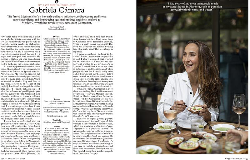 gabriela cámara for monocle